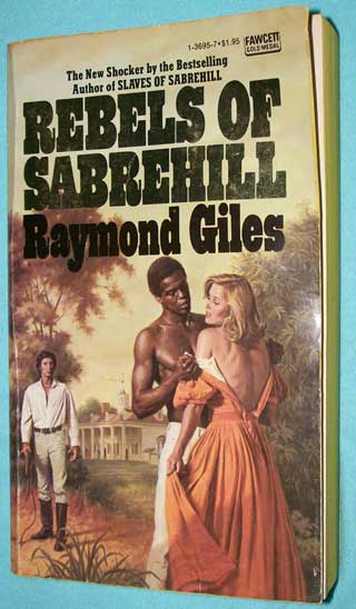 Photo of paperback book - Rebels of Sabrehill, Raymond Giles, front cover