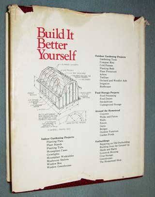 Build It Better Yourself, rear cover