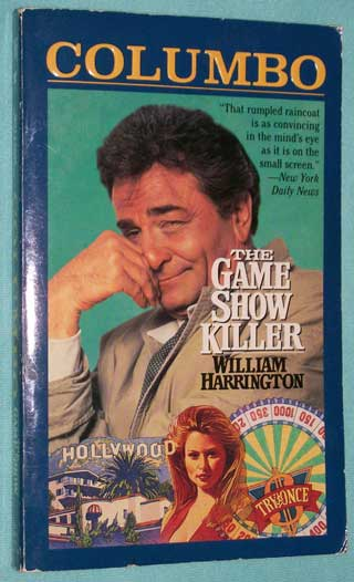 Photo of paperback book The Game Show Killer, William Harrington, front cover.
