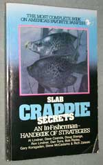 Softcover book Slab Crappie Secrets, front cover