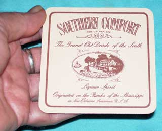 Photo of Southern Comfort Liqueur Coaster, Held