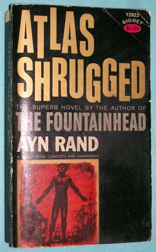 Photo of Atlas Shrugged by Ayn Rand, PB, front cover