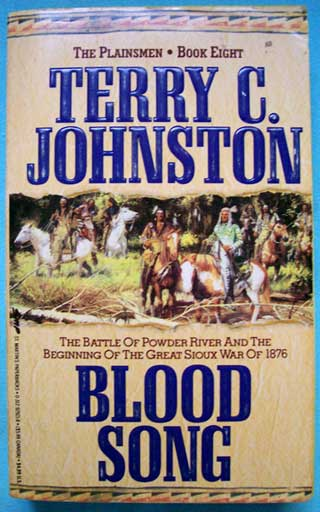 Blood Song, Terry C. Johnston, front