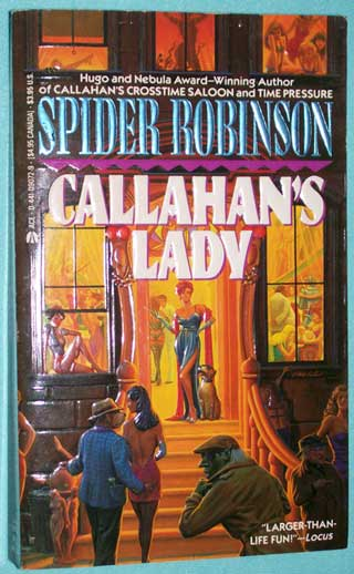 Callahan's Lady, Spider Robinson, front