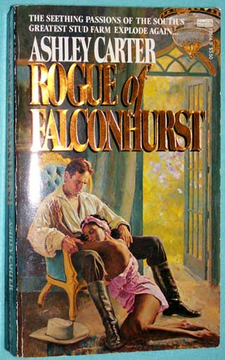 Rogue of Falconhurst, front cover