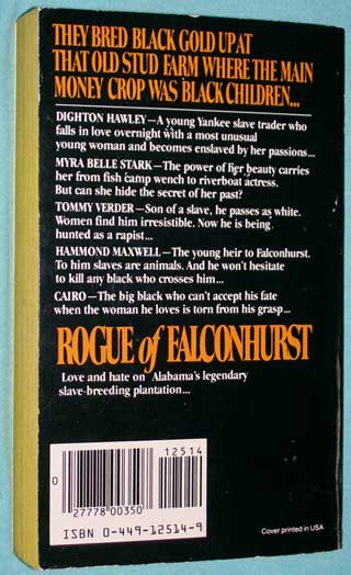 Rogue of Falconhurst, rear