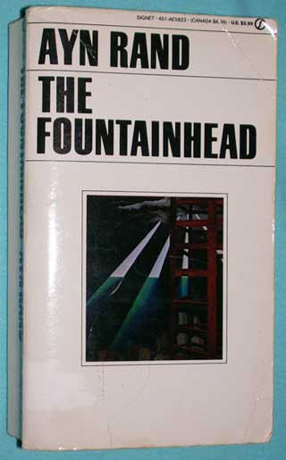 Photo of The Fountainhead by Ayn Rand, PB, front cover