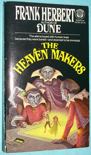The Heaven Makers, Frank Herbert, front cover