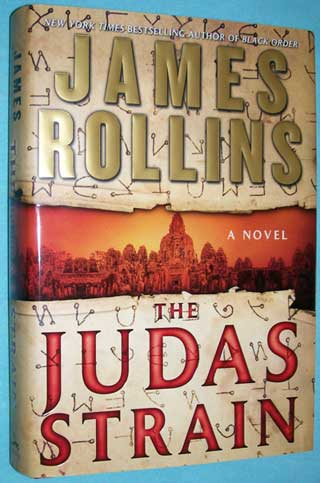 The Judas Strain, front cover