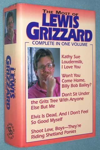 The Most of Lewis Grizzard, front cover