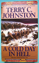 A Cold Day In Hell, Terry C. Johnston, front