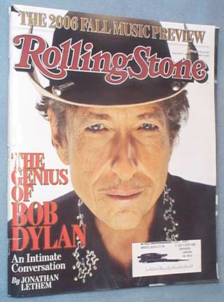 Rolling Stone Sept.7, 2006 Genius of Bob Dylan