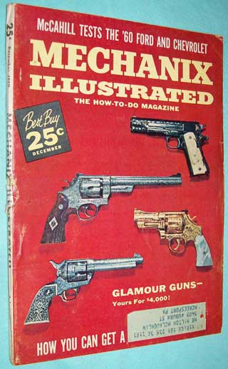 Photo of magazine back issue Mechanix Illustrated December 1959