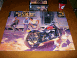 Photo of a Harley Davidson Jigsaw Puzzle, completed.