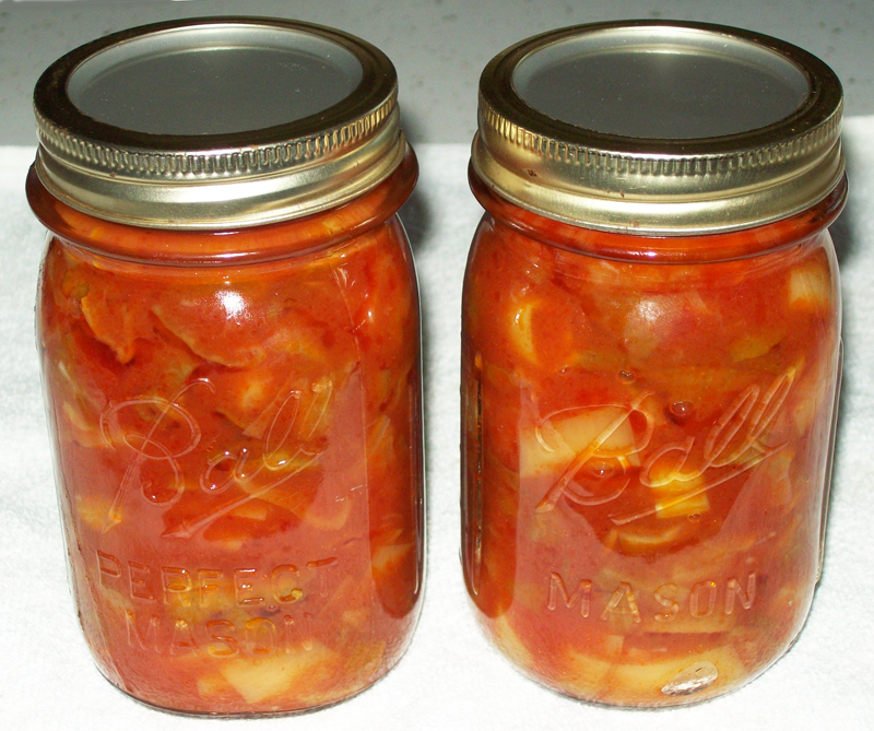 photo of a pair of jars of Peppers & Pods.